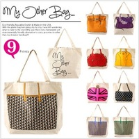 2013 product star my other bag handbag canvas bag casual shopping bag