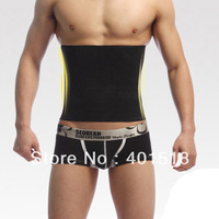 Body Shaping Beauty Care Underwear Male Waist Abdomen Drawing Belt Shaper for Man Free Shipping