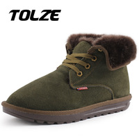 Free shipping 2013 new winter fashion cotton shoes warm boots two men casual shoes boots