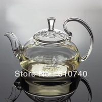 Glass Teapot Heat Resistant For Blooming tea 600ml/21oz, Free shipping