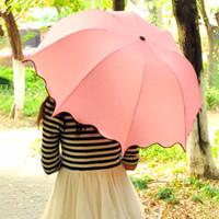 Sun umbrella ultra-light princess umbrella sun protection structurein anti-uv umbrella folding umbrella