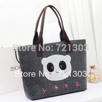 New Arrival Female bags women's shoulder bag large capacity linen canvas bag handbag