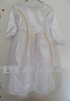 Free shipping Mcdull halloween clothes adult white princess dress - angel dress