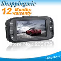 "2013 Latest Car DVR Camera 2.7"" LCD + Full HD 1920*1080P 30FPS + G-Sensor + 148 Degrees Wide Angle + Free Shipping"