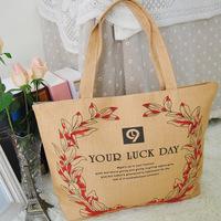 Canvas bag handbag shoulder bag cloth shopping bag female bags female canvas