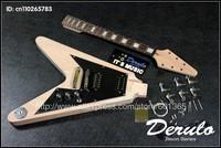 DIY Electric Guitar Kit  Bolt-On  Solid Mahogany Body & Neck