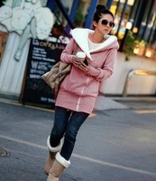 free shipping retail automn and winter cotton long-sleeve women hoodies women hoodies ,lsnw-002