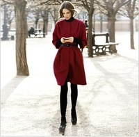 Top fabric fashion woolen outerwear wool coat female hot-selling