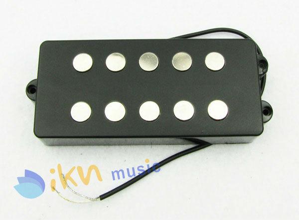 MM Style Bass Guitar Pickup 5 String Black Terminals Pickup(China (Mainland))