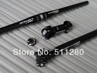 RITCHEY wcs carbon fibre 3k Mtb bike handlebar 580-700 / stem / seatpost / top cap, free shipping