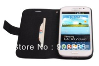 For Samsung Note 2 mini i879 special Leather Case oxhide Wallet style with back cover free shipping support dropship