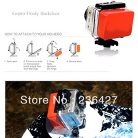 Floaty Backdoor Accessory for GoPro HERO HERO 2 HERO 3 Waterproof Case --With 3M Adhesive