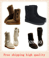 Free shipping Aunthentic Australia boots 5819combat boot 100% genuine sheepskin Wool boots snow boots 6 colour US 5 - US 9