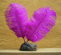 free shipping !!!hot on sale#purple ostrich feathers & quantity optional 30-35cm!!!