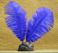 free shipping !!!hot on sale#blue ostrich feathers & quantity optional 15-20cm!!!