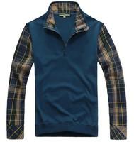 European and American style long sleeve Free shipping shirt cotton t shirt for men tshirt   108