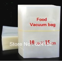 10*15cm 0.16mm thickness clear food vacuum bag dried fruits rice tea meat retain freshness packing