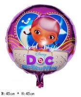 """new 50 PCS/bag 18"""" inch McStuffins Doctor Helium balloons kids birthday party decorations Inflatable toys gifts for children"""