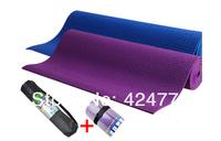 Tpe yoga mat 8mm eco-friendly tpe yoga mat slip-resistant winter yoga blanket 183X61X8MM