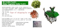 vegetable and meat cutter slicer dicer chiper flake of machine TJ3011