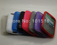100pcs/lot Free shipping New S-Line TPU Silicone Gel case for  BlackBerry Curve 9720