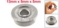 Silver Tone Metal 13mm x 5mm x 5mm Shield Ball Bearing