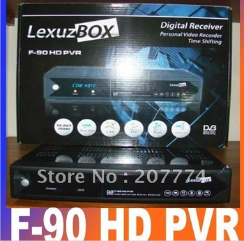 Lexuzbox F90 Cable TV Satellite Receiver lexuzbox F90 HD DVB-C Tuner RJ-45 port 1080P hd cable receiver free shipping for Brazil