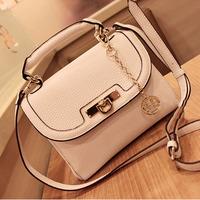 2014 bags vintage white messenger bag female