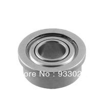 Silver Tone Metal 4mm x 1.5mm x 2mm Shield Ball Bearing