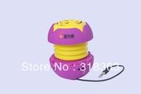 Newest 2013 portable mini hamburger speaker(top quality+2pcs) J2