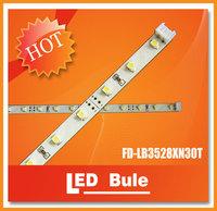 DHL Free Shipping 30leds 3528 0.5 LED light bar IP20 2.4W