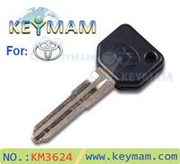 free shipping Hot sale transponder key shell Toyota daihatsu car clone transponder key shell