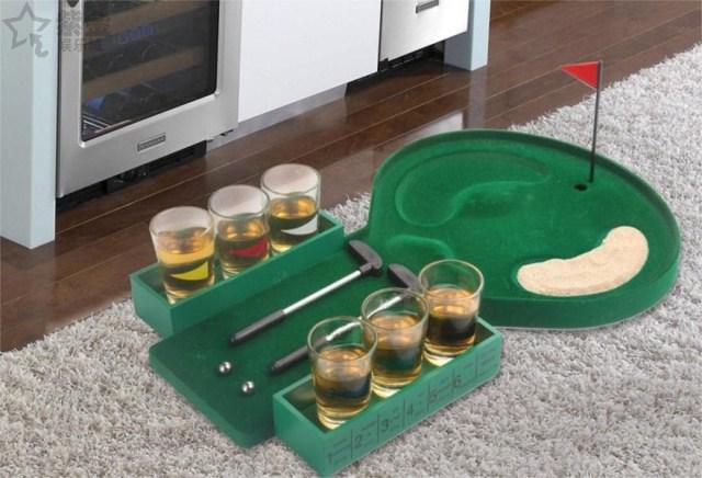 Indoor golf fun family games fun props Bar Golf Leisure Party Supplies(China (Mainland))
