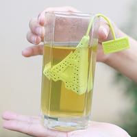 Freeshipping Mini Eiffel Tower shape Teaspoon 100% silicone Non-toxic Tea Strainers Tea Device Tea filters 30pcs/lot