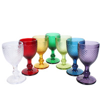 Fashion wine glass whisky quality set glass Large hanap red wine cup 250ml