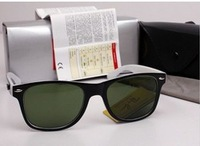 Special offer!!!100% High quality Men's/Woman's Glasses 2140 WAYFARER Sunglasses black Frame with original box Cloth