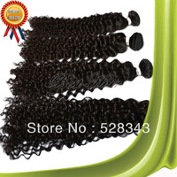 Brazilian virgin hair curly wave Queen hair products 3pcs lot,Grade 5A,100% unprocessed hair