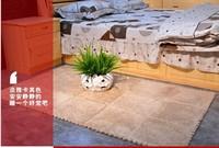 cute bedroom rugs children carpet 30*30cm size 9 piece/lot anti-slip short hair carpet mats foam crawl cushion 5 color