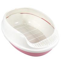 Pet supplies antibiotic litter box cat toilet litter box 3 layer