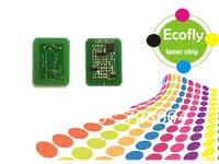 toner chip for OKI C5550/C6100/6150 laser printer toner cartridge reset chip