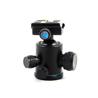 New Beike BK-03A Camera Tripod Ball Head With Quick Release Plate