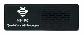DHLDHL2013 hottest mini pc Tronsmart MK908 RK3188 Quad core 2G/8G BT Bluetooth v4.0 tv dongle set-top box With Free Shipping