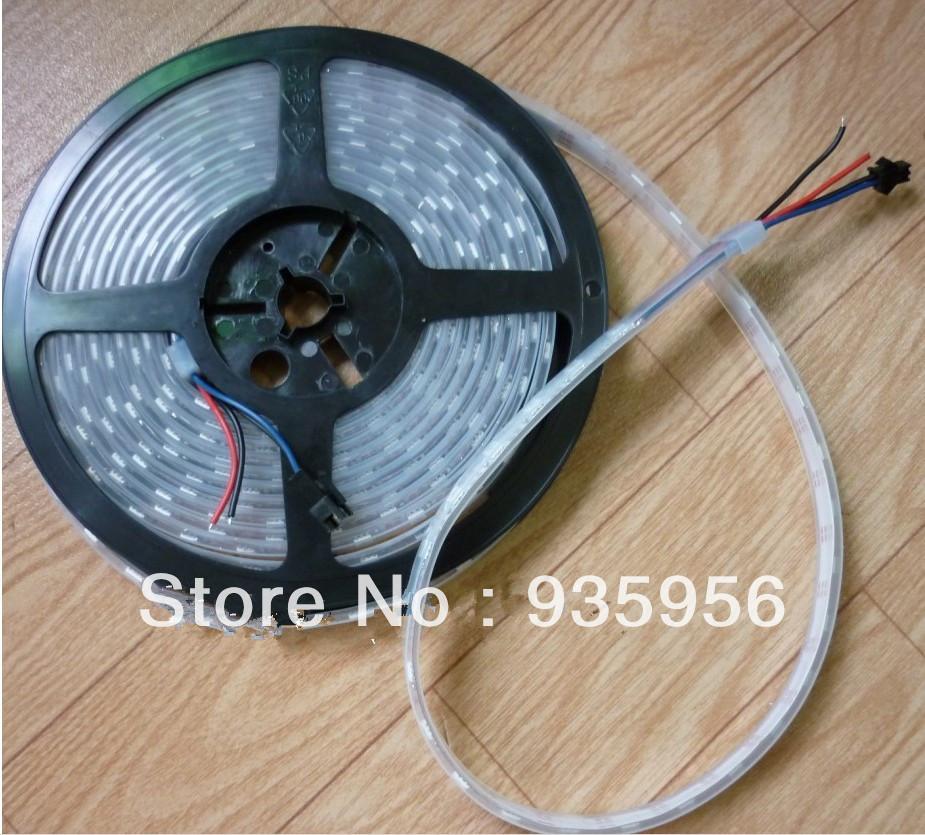 2013 LED New Product 60pixels/m 60LEDs/m Arduino-Compatible WS2811 5050 SMD Digital RGB LED Pixel Strip(China (Mainland))