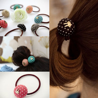 NEW 20pcs Wholesale Jewelry Lots Mixed Colors Rabbit style Ball Hair Band  headband Accessories