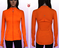 Free shipping, 2013 hot selling top quality affordable fashion LULULEMON Lulu Lemon yoga jacket coat size XS-XL