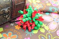 Christmas Ribbon girl hair barrette , free shipping