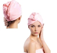 1000PCS Hat Cap Magic Microfibre Hair Drying Wrap Towel Turbie Turban Shower