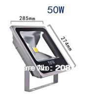 4pcs/lot 50W Warm White/Cool White LED Flood light  Waterproof Outdoor Lights Grey Case