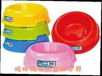 Saidsgroupsdirector daily necessities slip-resistant plastic dog bowl Small single bowl color