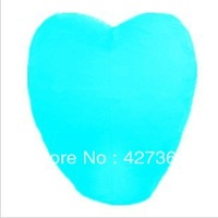 Free shipping 100pieces Heart-Shaped SKY Balloon Kongming wishing Lanterns,Flying Light Halloween Lights